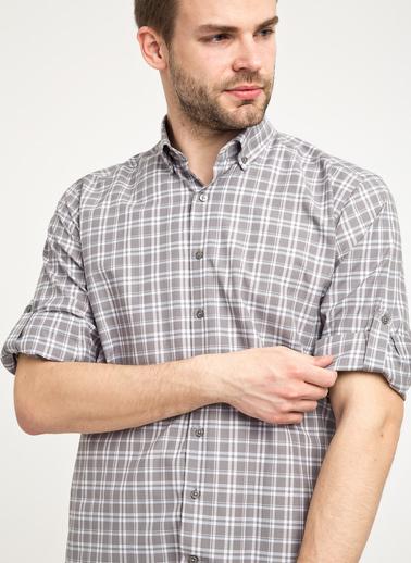 Kiğılı Gömlek Gri